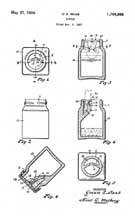 Mr. Raab's Ink Bottle Patent 1,759,866