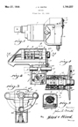 US Electrical Tool -- Patent No. 1,760,257