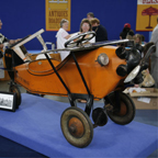 Steelcraft Pedal car in the form of the Spirit of Saint Louis