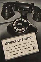 Western Electrc Model 102 as the iconic symbol of the Bell System