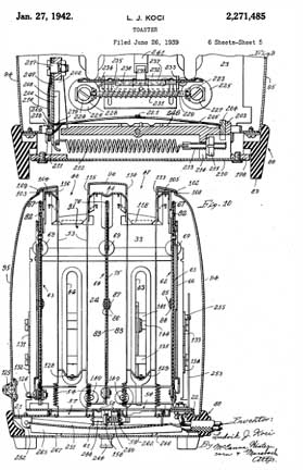 Sunbeam T-9, Patent 2,271,485, End