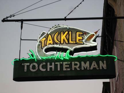 Tochterman Tackle Sign