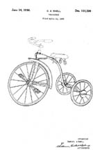Tricycle Design patent D110100