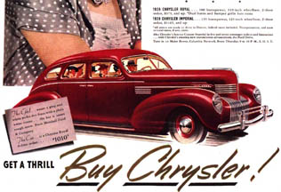 Ad for the Chrysler Royale