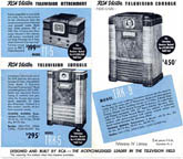 ads for the RCA TRK-9 Television Receiver