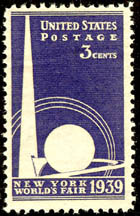 Trylon and Perisphere Stamp