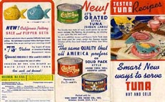 Ad for Chicken of the Sea Tuna Bakers