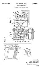 Patent 3,235,386 for Zenith Space Command Remote