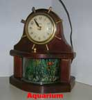 United Metal Goods Aquarium Clock