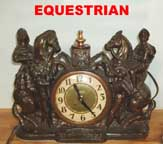 United Metal Goods Equestrianclock