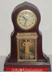 United Metal Goods Hula Dancer Clock