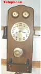 United Metal Goods telephone clock