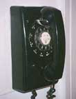 Western Electric Model 554 Wall Phone