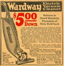 Ad for the 1932 Wardway Sweeper