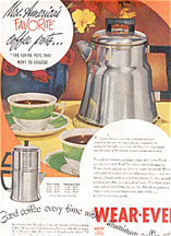 Wearever Coffee Pot Advertisement