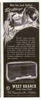 West Branch Hope Chest Ad - 1941