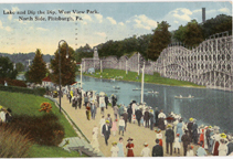 West View Park Postcard c 1910