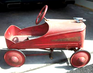 Whippet Pedal car