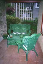 Wicker Porch Set