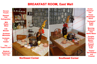 Breakfast Room East Wall