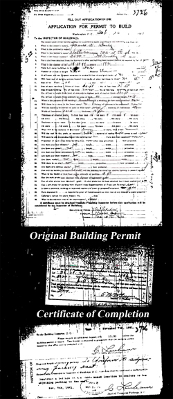 Original Building Permit