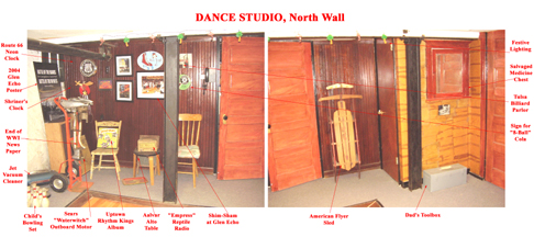 Dance Studio North Wall