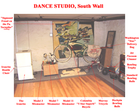 Dance Studio South Wall