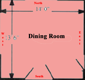 Dining Room Map