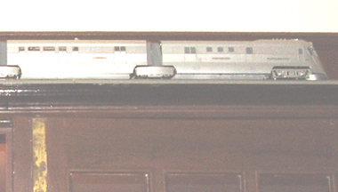 Model of the Burlington Zephyr