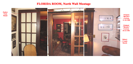 Florida Room North Wall