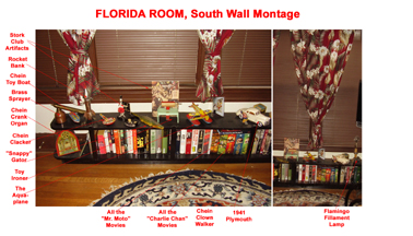 florida Room South Wall