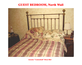 Guest Bedroom North Wall