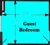Go to the Guest bedroom