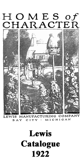 Lewis Homes Catalogue, 1922