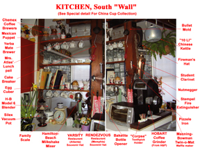 Kitchen South Wall