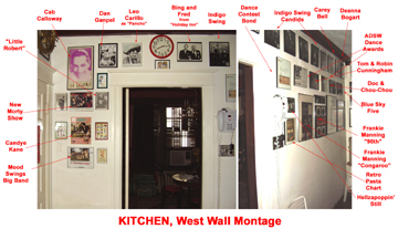 Kitchen West Wall