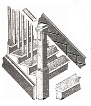 Lewis Catalogue page with details about the stairs