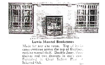 Lewis Catalogue page with standard fireplace