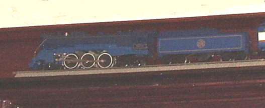Model of the Blue Comet in the Library