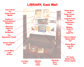 Library East Wall