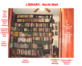 Library North Wall