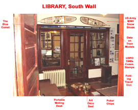 Library South Wall
