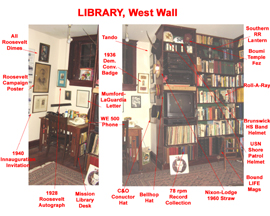 Library West Wall