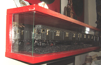 The New York R1 Subway Car Display