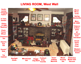 Living Room West Wall