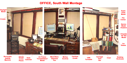 Office South Wall