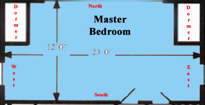 Master Bedroom Map