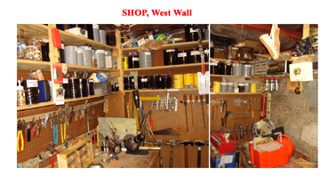 Workshop West Wall