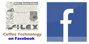 coffee technology facebook signup graphic