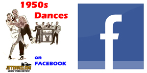 1950s dancing Facebook Signup Button